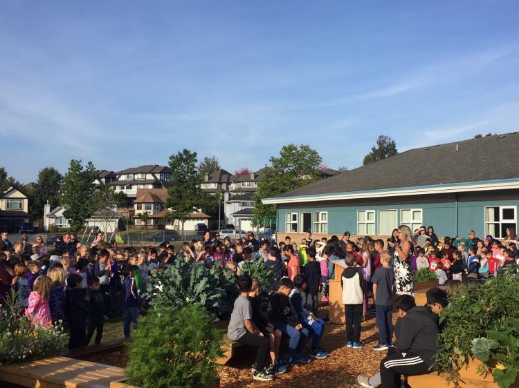School District No  43 - Castle Park's Garden Supports Outdoor Education