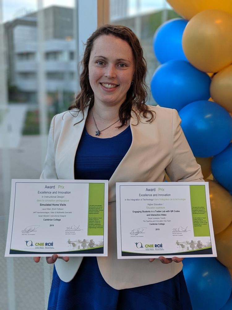 Cambrian College Of Applied Arts And Technology College Wins Two National Awards For Innovation In Education