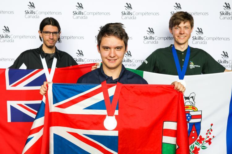Georgian College Of Applied Arts And Technology Georgian S Mark Reckzin Strikes Gold At Skills Canada