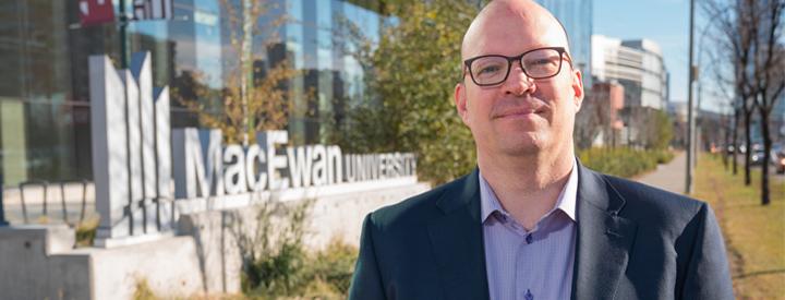 MacEwan University - Dr  Kristopher Wells named Canada