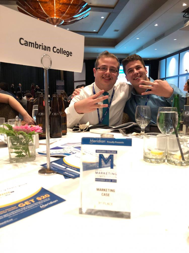 Ontario Colleges Marketing Competition Cambrian College Hits The Podium At Provincial Marketing Competition