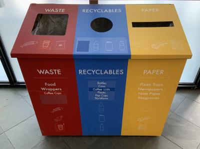 Humber College What A Waste Humber Students Revamp Lakeshore S Garbage Bins