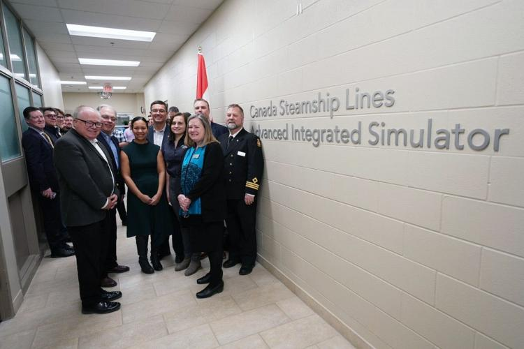 Georgian College Of Applied Arts And Technology New State Of The Art Marine Simulator Unveiled At Georgian S Owen Sound Campus Thanks To 540 000 Donation From Canada Steamship Lines